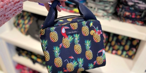 Up to 80% Off Vera Bradley Bags & Accessories | Lunch Coolers from $9, Packable Duffels from $12.60 & More