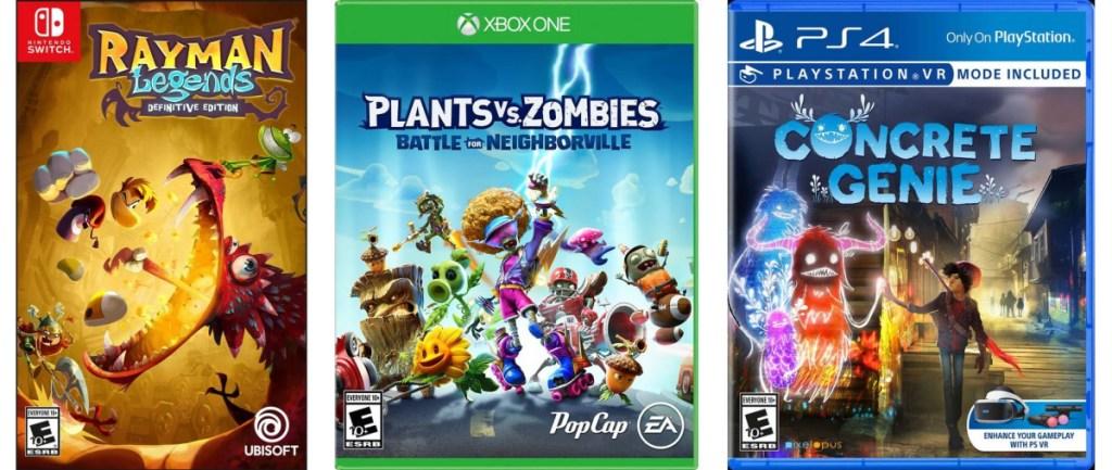 video games from gamestop