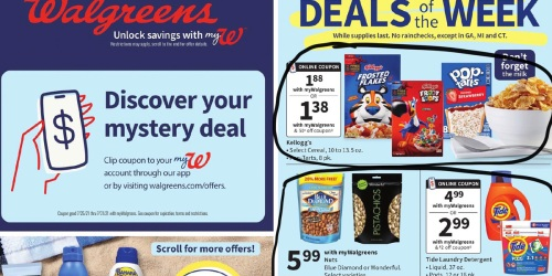 Walgreens Ad Scan for the Week of 7/25/21 – 7/31/21 (We've Circled Our Faves!)