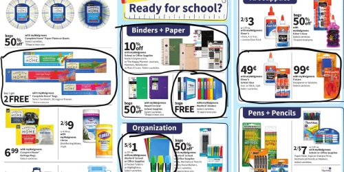 Walgreens Ad Scan for the Week of 8/1/21 – 8/7/21 (We've Circled Our Faves!)
