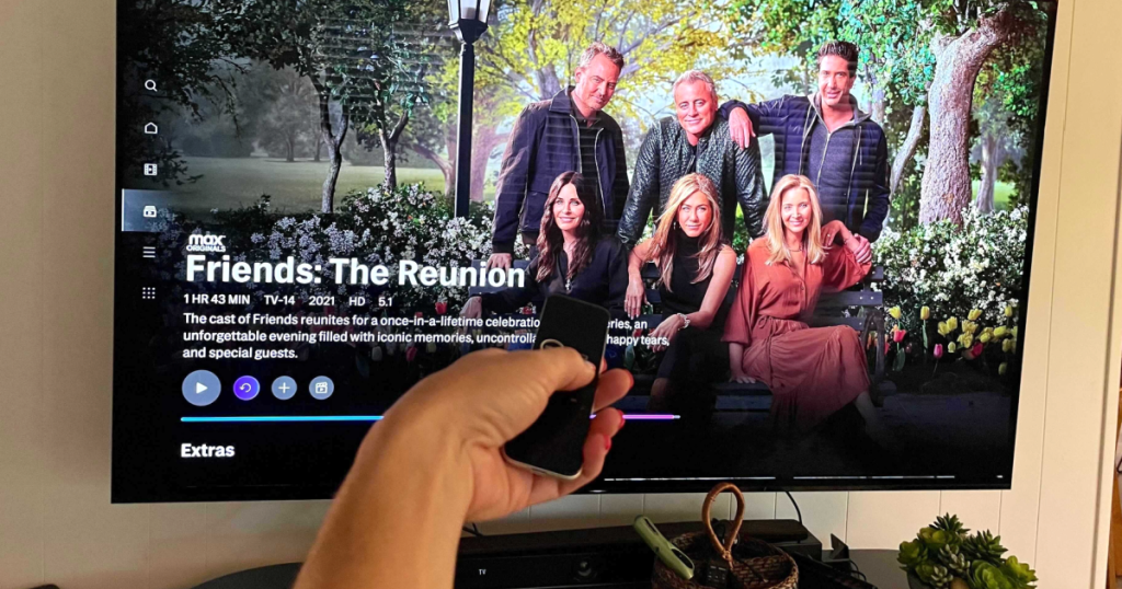 Watching Friends The Reunion on HBO Max