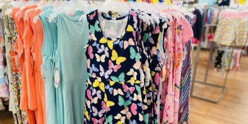 Wonder Nation Girls Dresses 3-Pack Only $9 on Walmart.com (Just $3 Each) + More Kids Clothes Deals