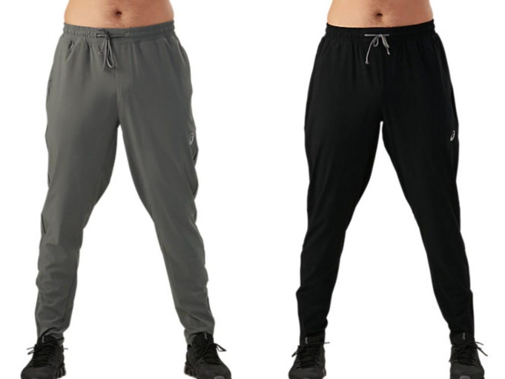 asics men's track pants