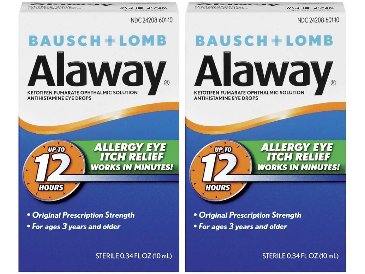Alaway Eye Itch Relief Antihistamine Eye Drops