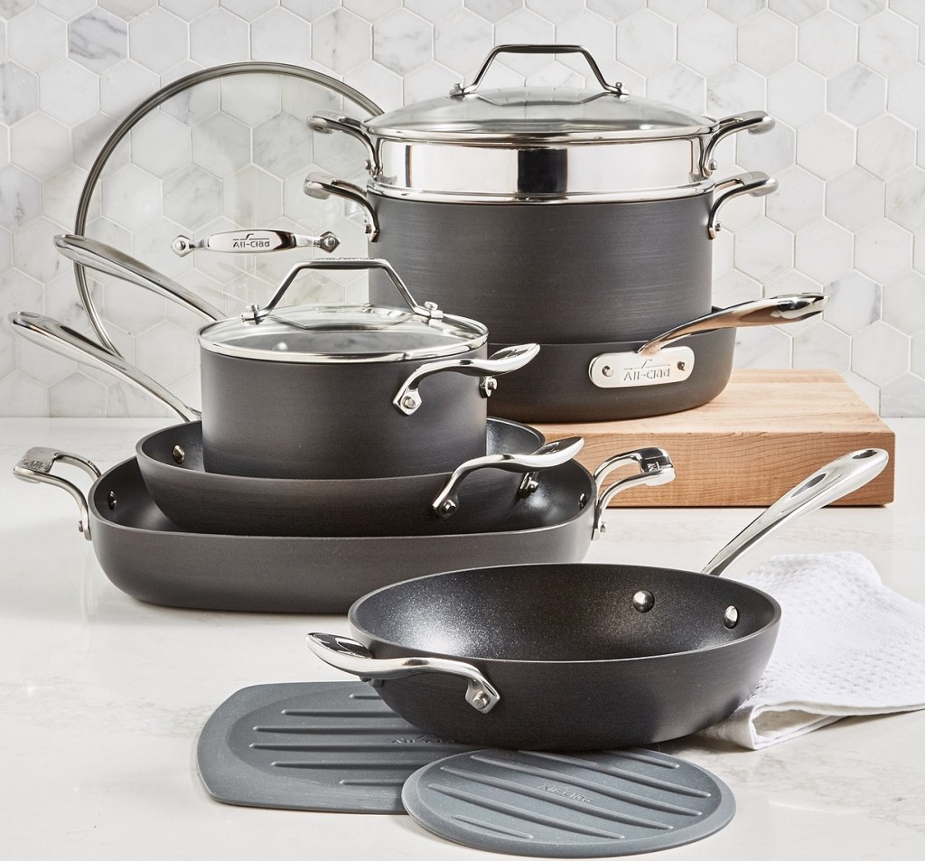 All-Clad Nonstick cookware