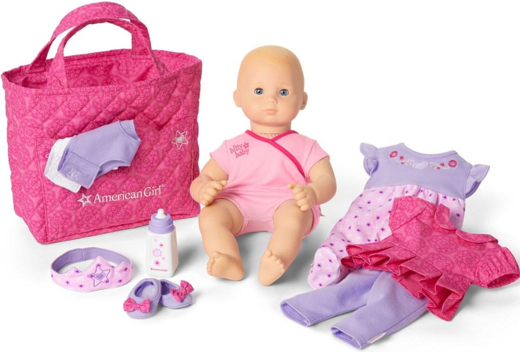 bitty baby doll set