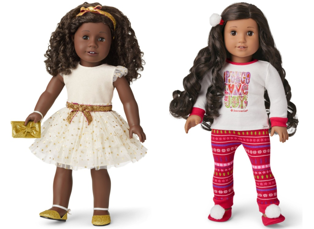 2 american girl doll outfits