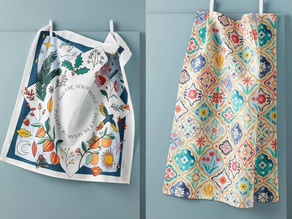 dish towels from anthropologie