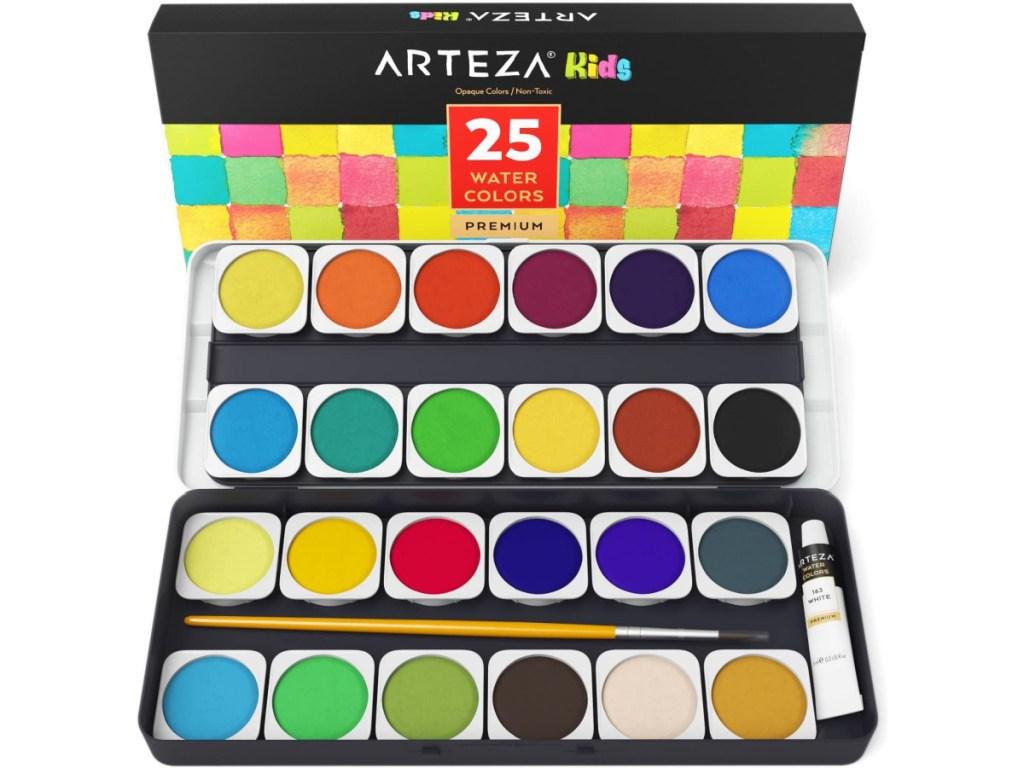 Arteza Kids Premium Watercolor Paint Set