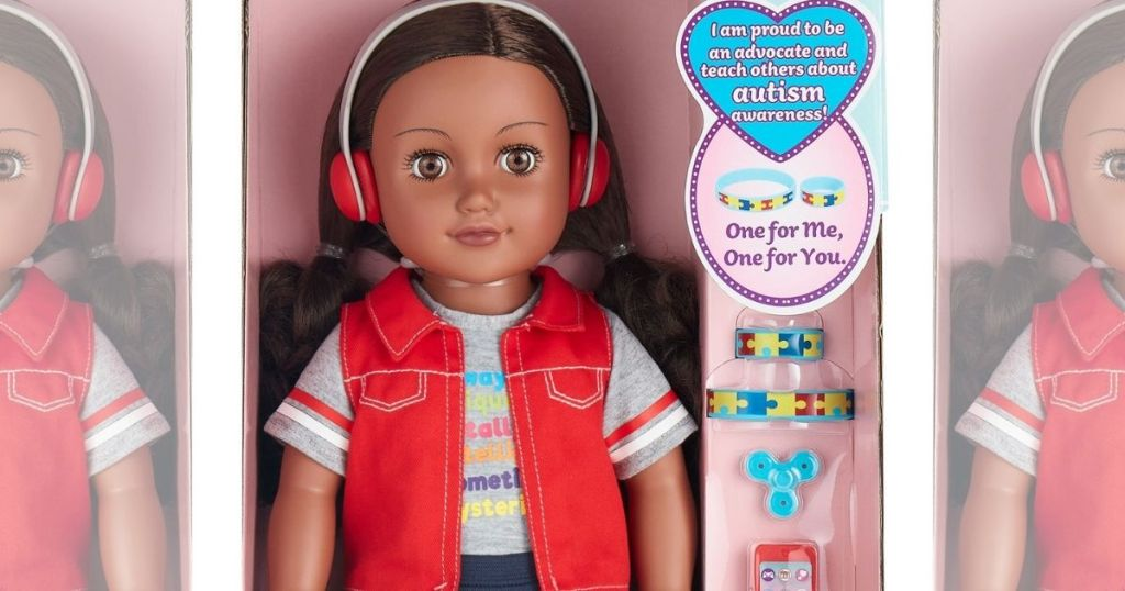 My Life as an Autism Awareness Advocate Doll