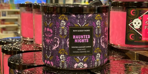 Bath & Body Works 3-Wick Candles Just $12.95 (Regularly $24.50) | Includes Fall & Halloween Scents