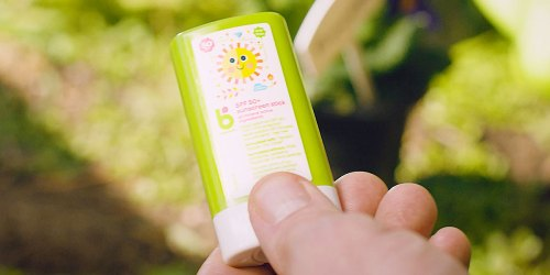 Babyganics Travel-Size Sunscreen Stick 2-Pack Only $5.58 Shipped on Amazon | Just $2.79 Each