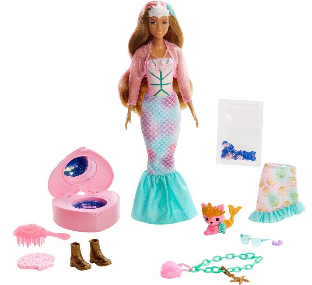 Barbie Color Reveal Peel Doll with 25 Surprises & Mermaid