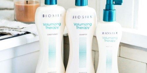 Biosilk Shampoos & Stylers from $4.20 Shipped on Amazon (Regularly $10)