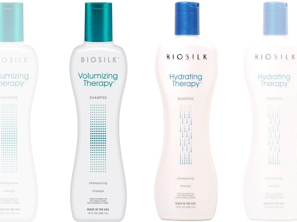 biosilk shampoo bottles