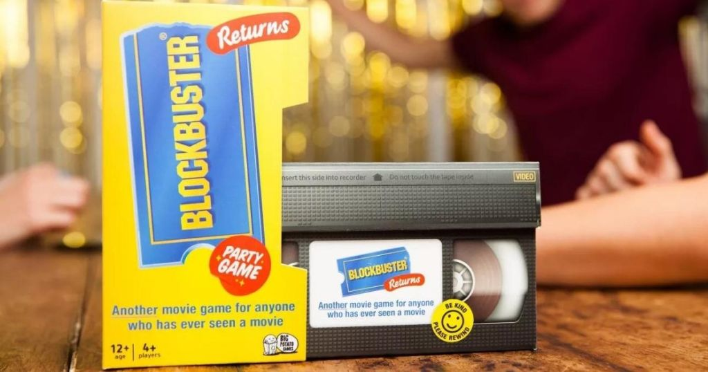 Blockbuster Returns Party Game