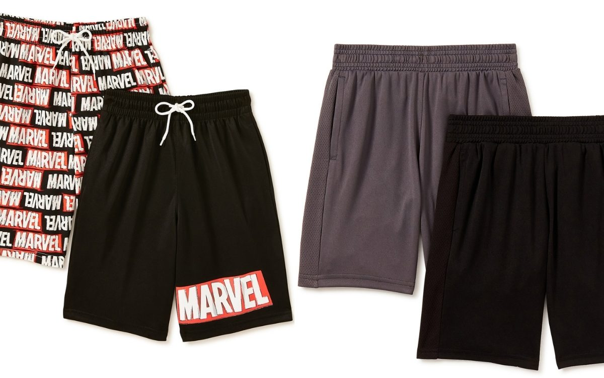 marvel and athletic shorts