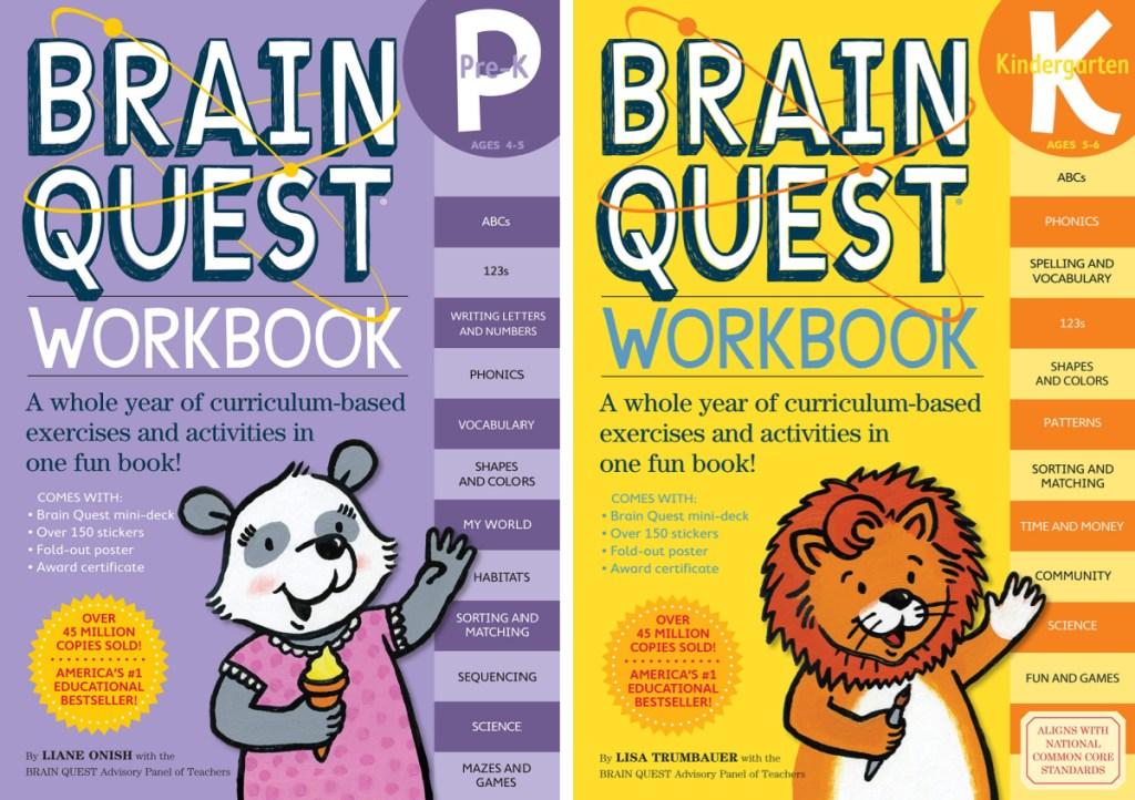 Brain Quest Workbooks