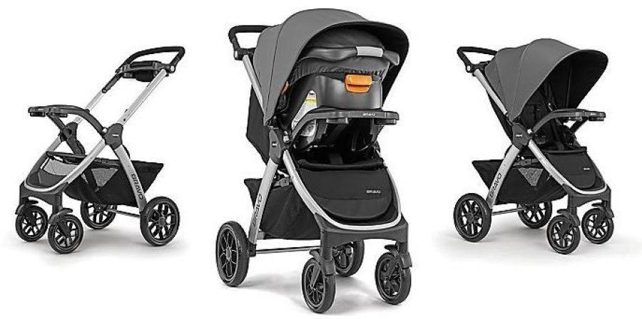 Bravo stroller 3 ways