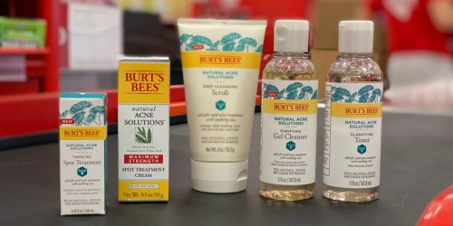 $26 Worth of Burt's Bees Acne Products Just $14.67 After Target Gift Card