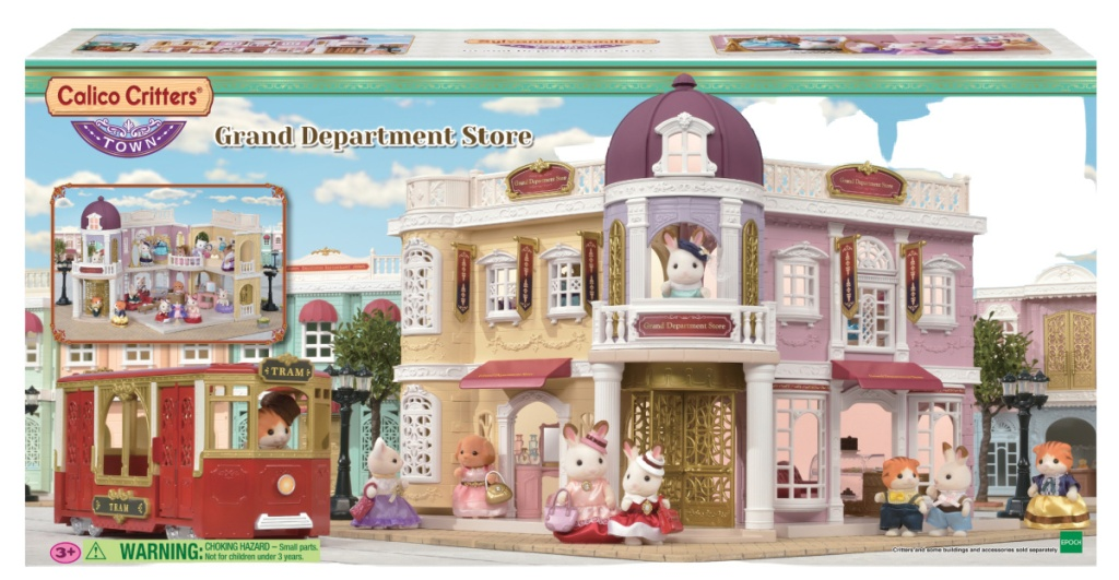 Calico Critters Grand Department Store Playset