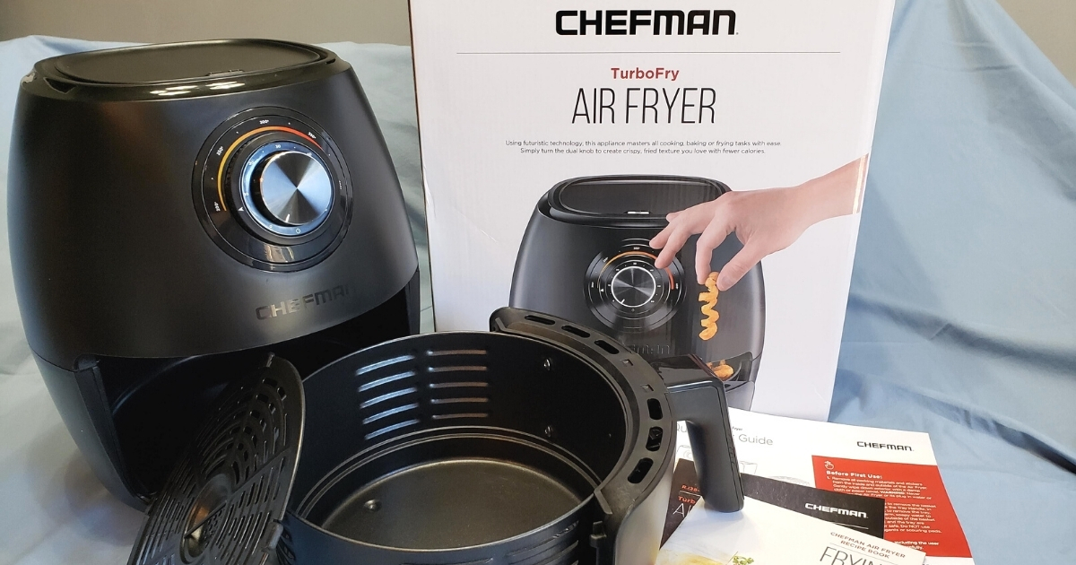Chefman TurboFry 3.7-Quart Air Fryer