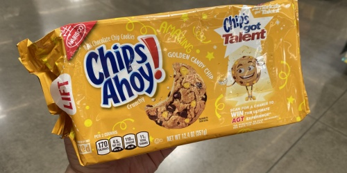Chips Ahoy Golden Candy Chip Cookies Just 37¢ Each After Cash Back at Walmart