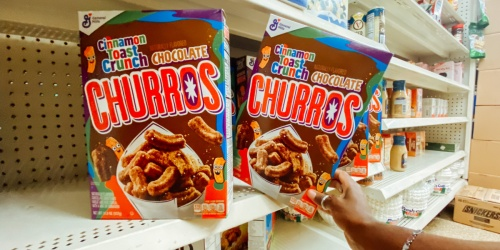 Cinnamon Toast Crunch Chocolate Churros Cereal Only $1 at Dollar Tree