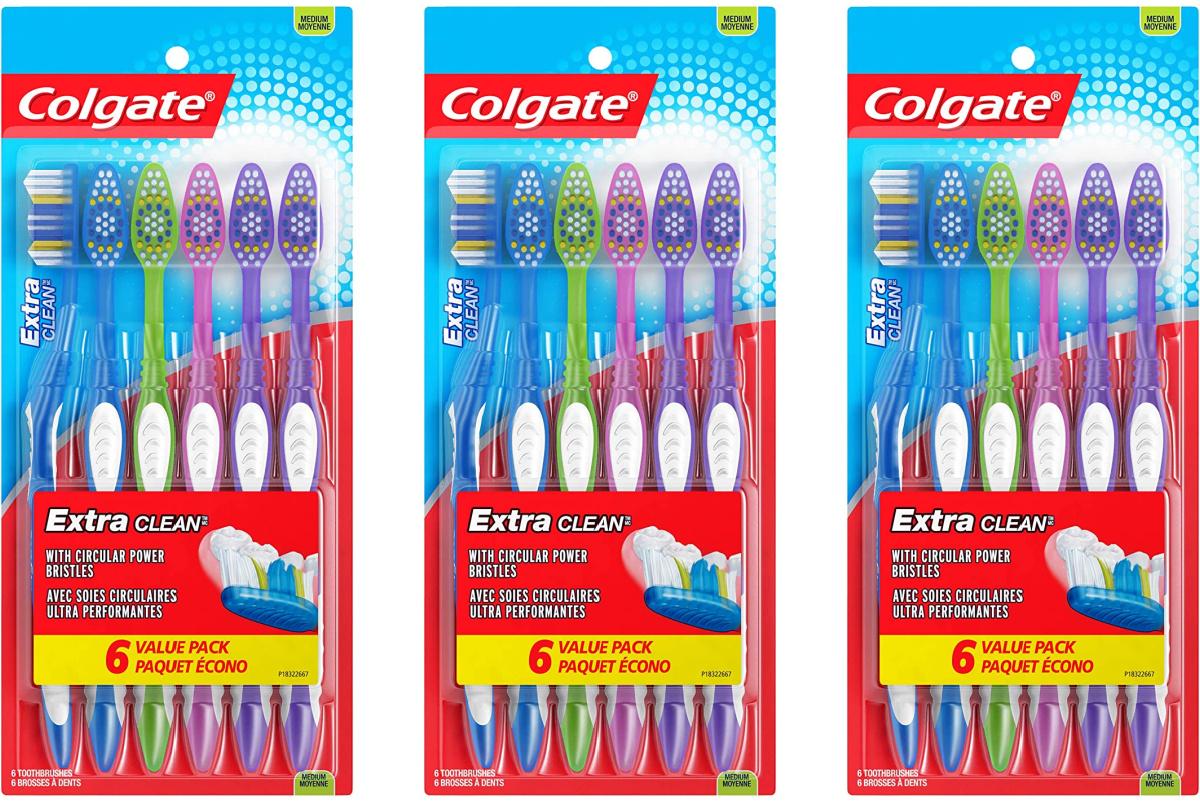 Colgate toothbrush packs