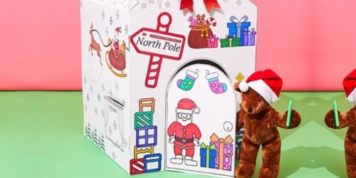 Color-Your-Own Playhouse Only $16.99 Shipped (Regularly $50)   Fun Holiday Gift Idea!