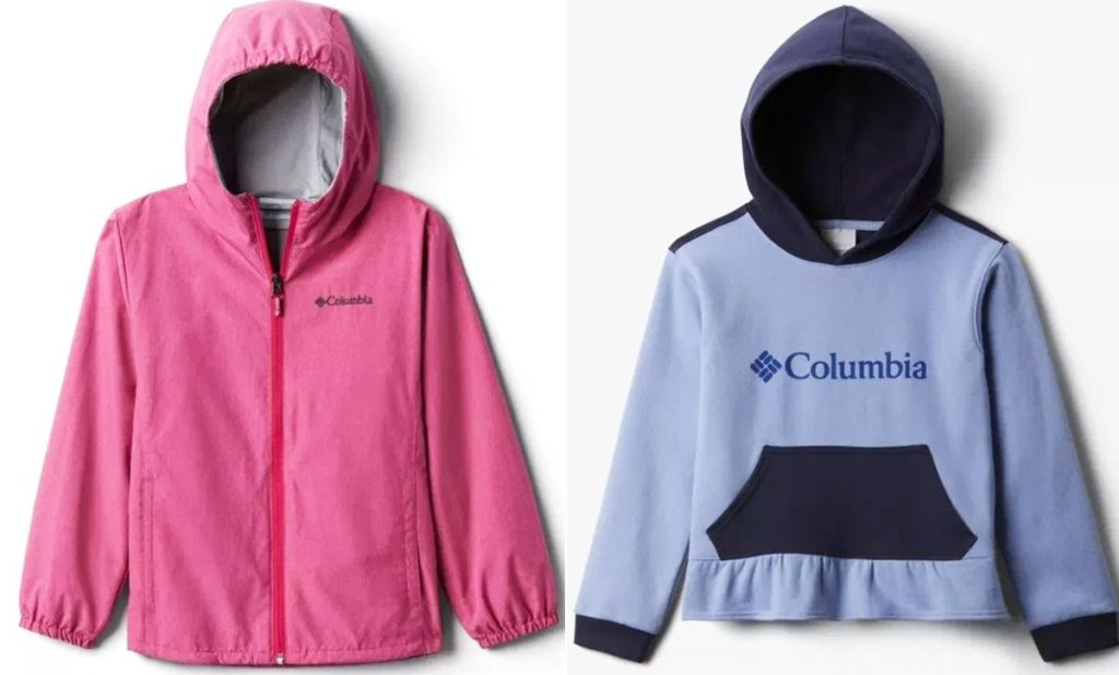 two kids columbia jackets