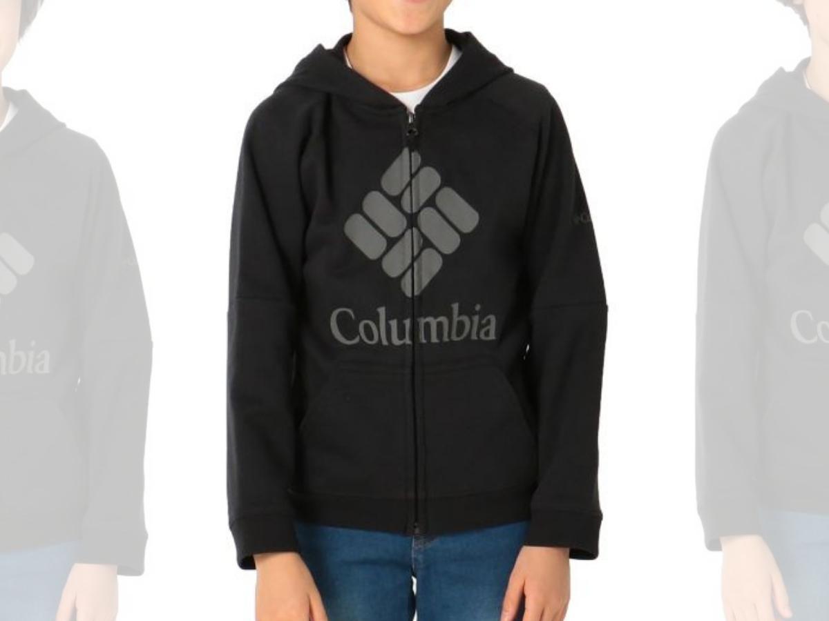 Columbia Kids' French Terry Full-Zip Hoodie