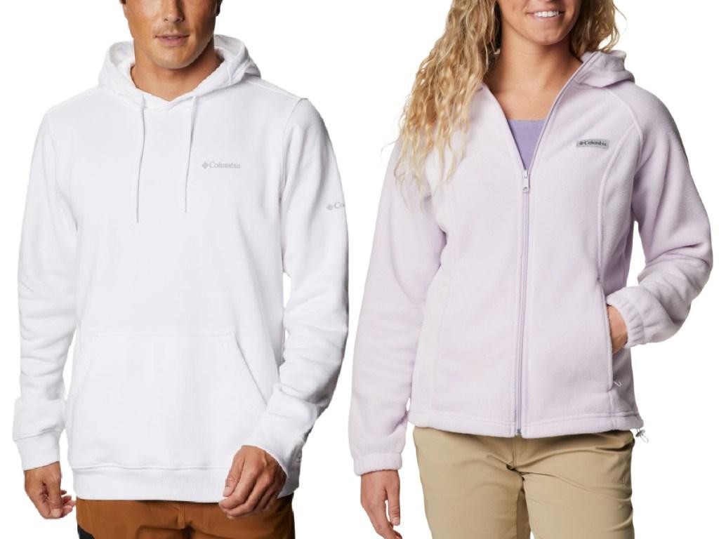 Columbia men and women hoodies