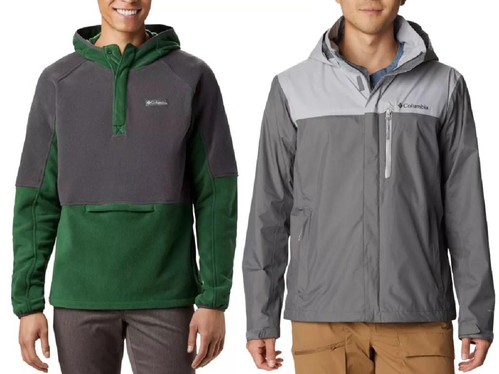 Columbia men's jackets