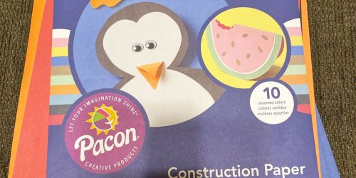 Construction Paper 500-Count Just $5.73 on Walmart.com (Regularly $16)