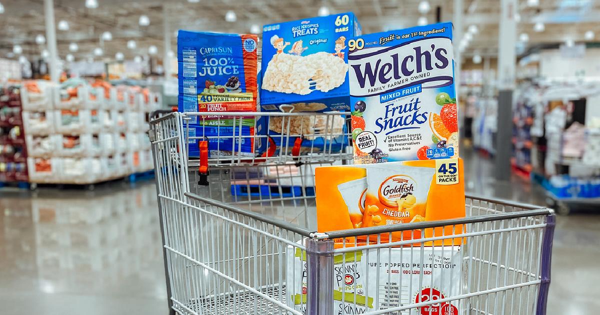 Costco Snack & Drink Cart