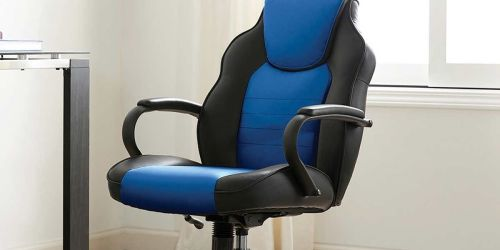 Rolling Office Chair w/ Back Cushions & Padded Armrests Only $39.99 Shipped on Costco.com (Regularly $75)