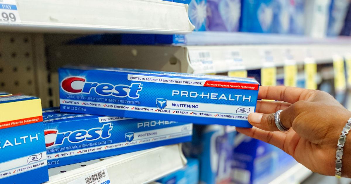 Crest Pro-Health Whitening Gel Toothpaste 2-Pack