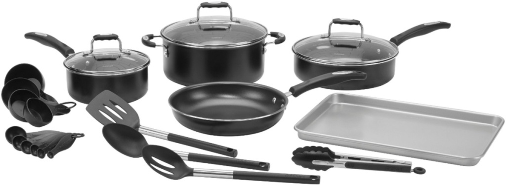 Cuisinart Complete Chef 22-Piece Cookware Set