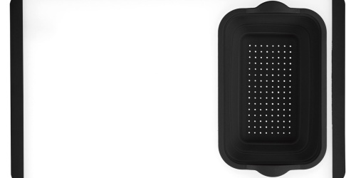 Cuisinart Cutting Board w/ Colander Just $19.99 Shipped (Regularly $40)