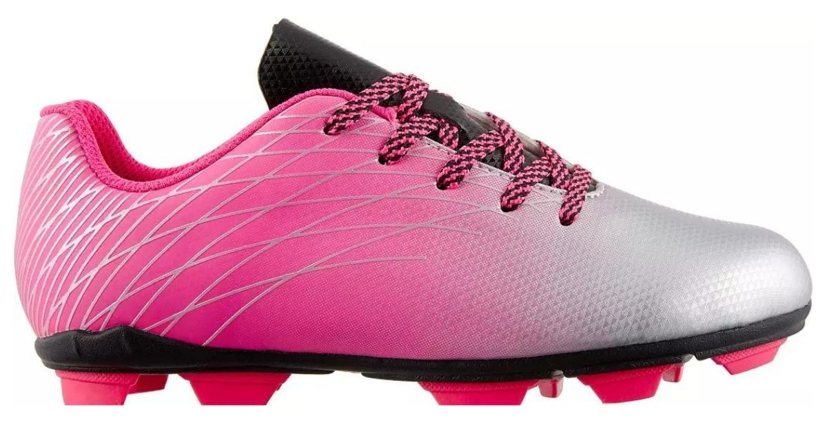 pink soccer cleats from dick's sporting goods girls