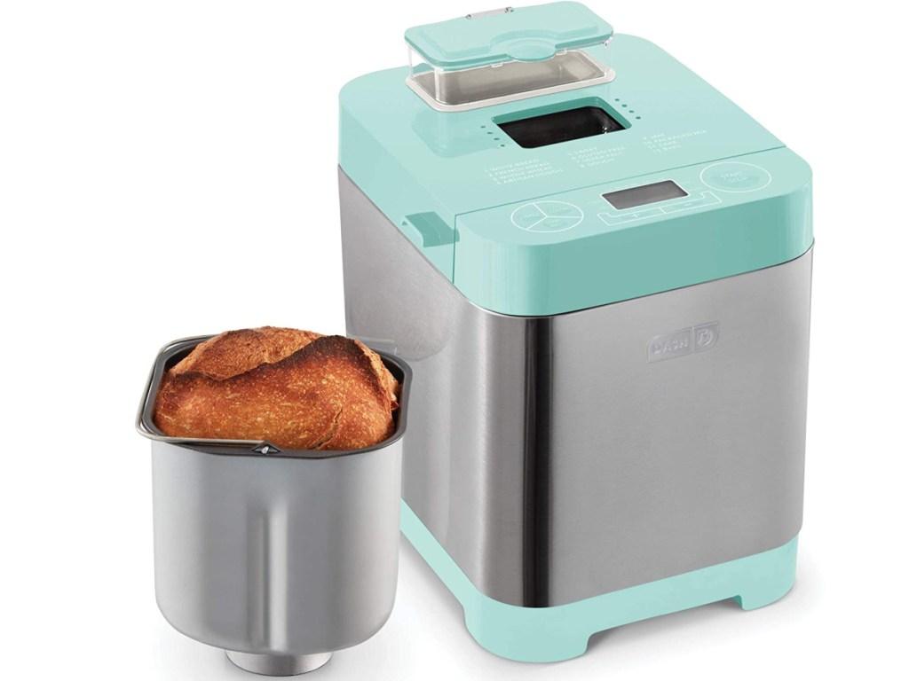 Aqua colored bread maker