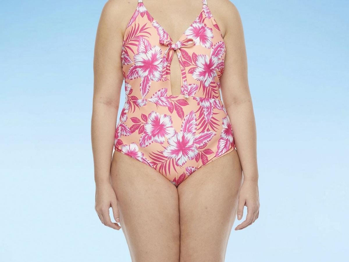 Decree Women's One Piece Swimsuit Plus