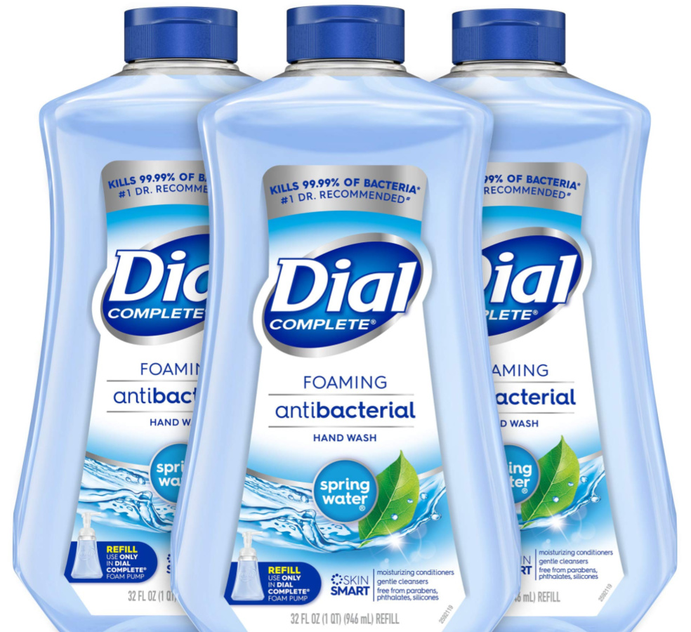Dial Complete Antibacterial Foaming Hand Soap Refill 32oz Bottle