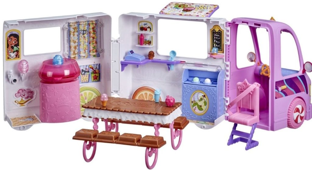 Disney Princess Comfy Squad Sweet Treats Truck Playset