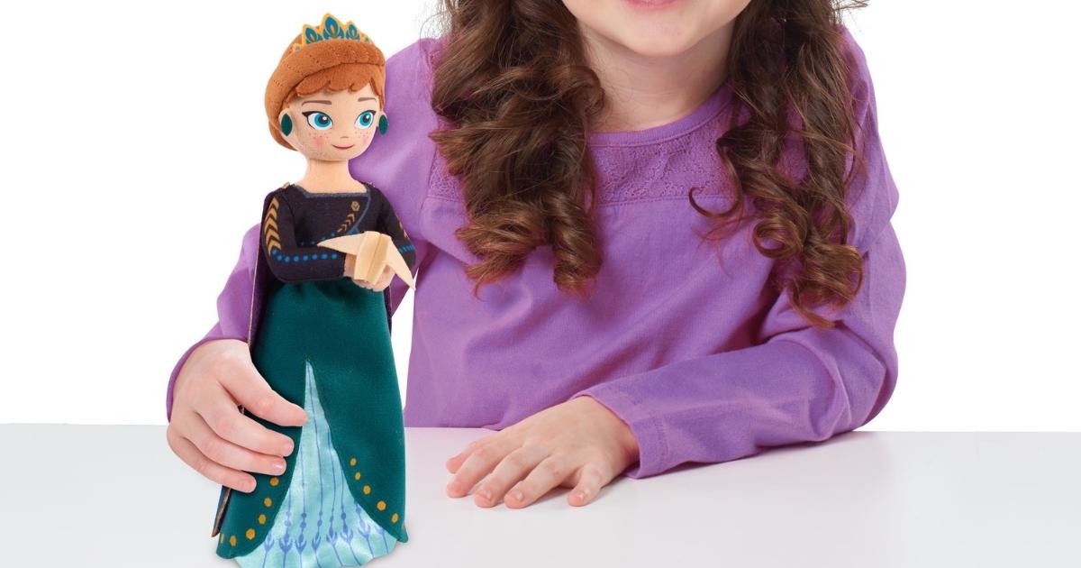 Disney's Frozen 2 Talking 9.5-inch Small Plush Anna