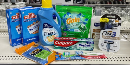 *HOT* 9 Household & Personal Care Items Only $5.60 at Dollar General (August 28th Only – Just Use Your Phone)