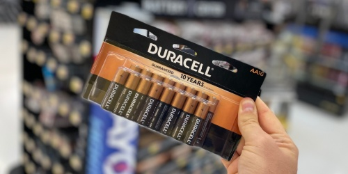 FREE Duracell 16 & 24-Pack Coppertop Batteries After Office Depot Rewards