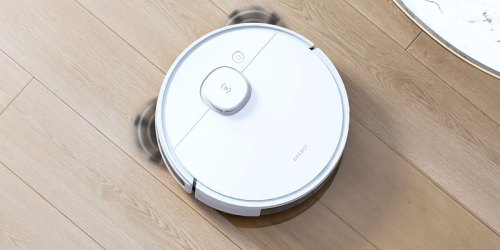 Smart Mapping Robotic Vacuum Cleaner & Mop Only $299.99 Shipped on Amazon | Works w/ Alexa Too!