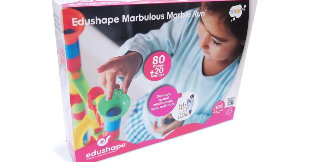 Edushape Marble Run Toy Set box
